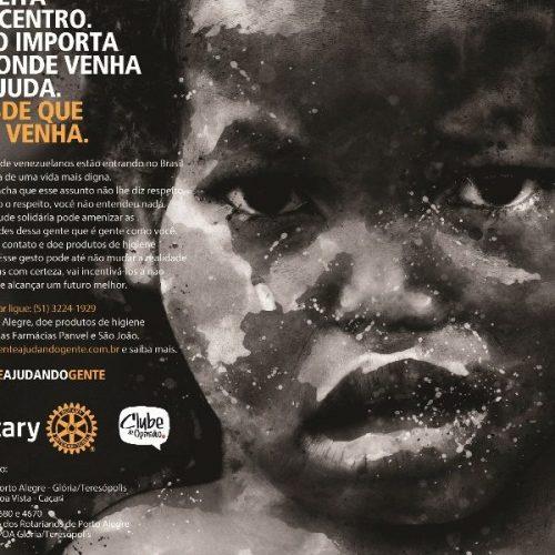 Movimento #genteajudandogente é lançado em Porto Alegre